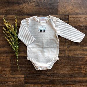 Janie and Jack Boys Layette Onesie